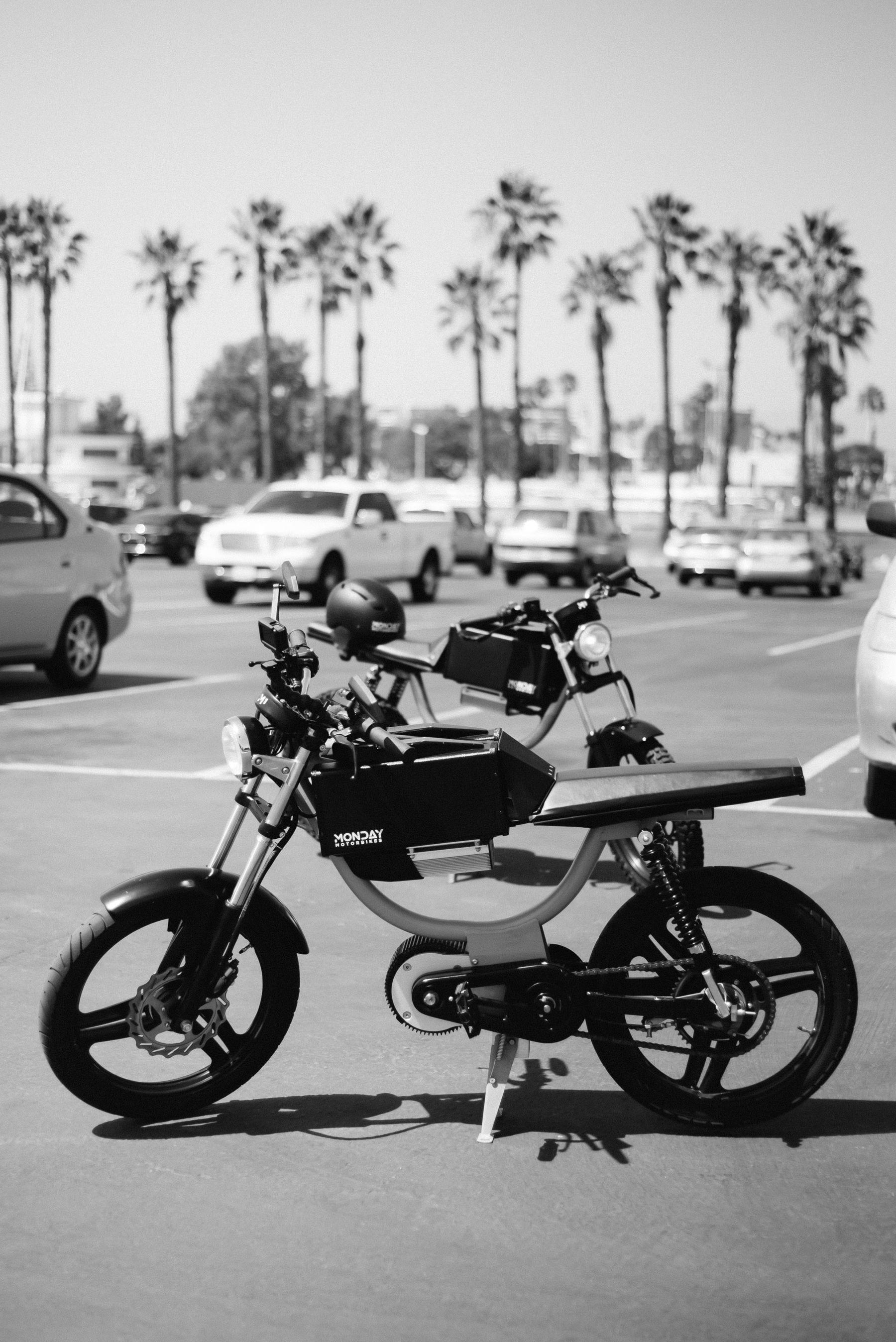 Monday Motorbikes Generation 6 Bike Foreground And Generation 7