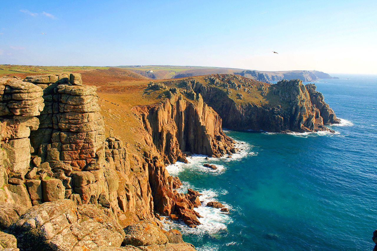 Land's End, Cornwall, England - South West Coast Path - Wikipedia, the free encyclopedia