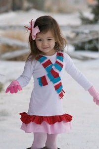 Winter Wonderland Dress | AllFreeSewing.com