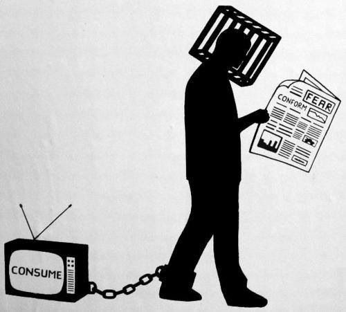 Image result for media brainwash