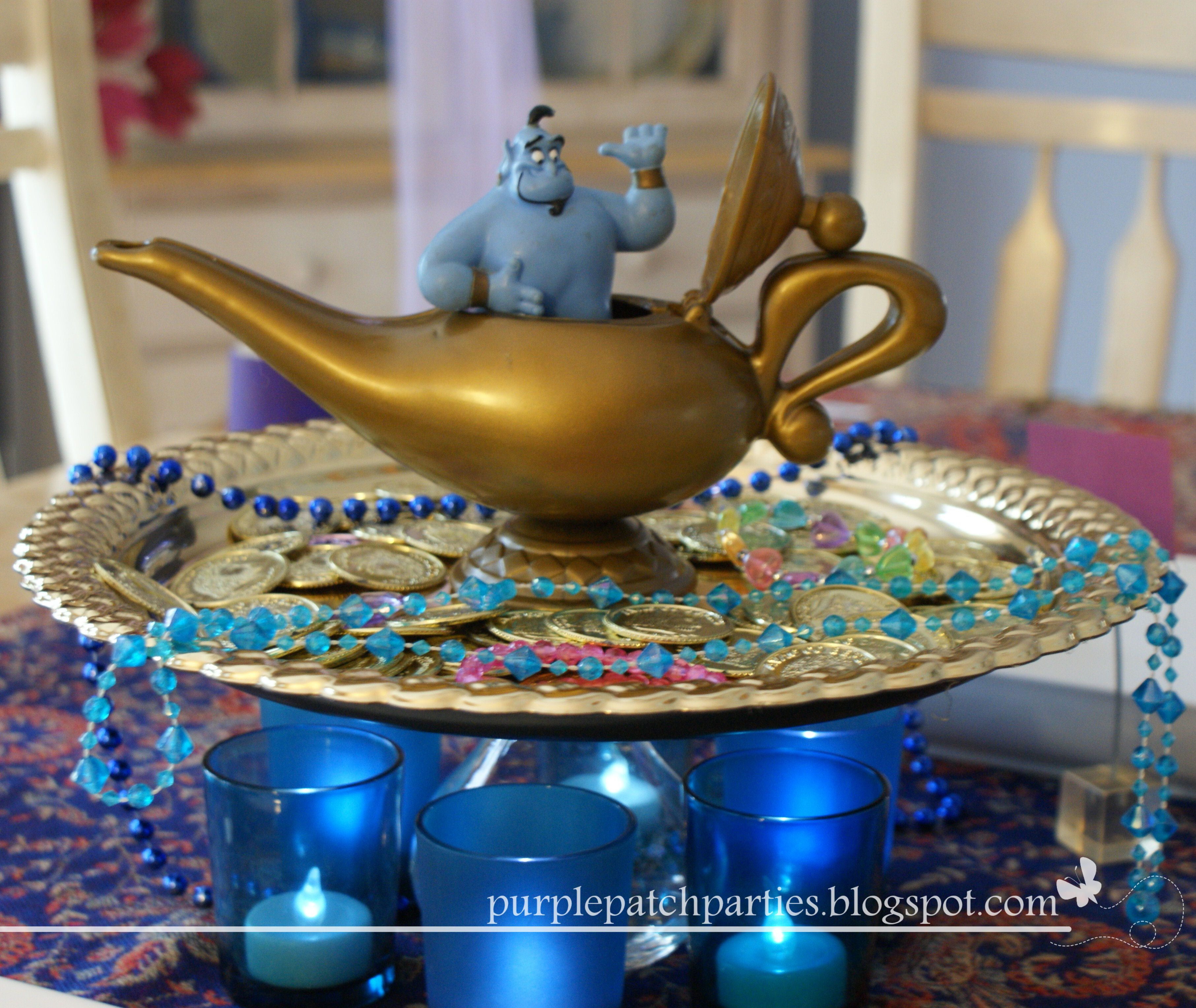 Magic Lamp Centerpiece