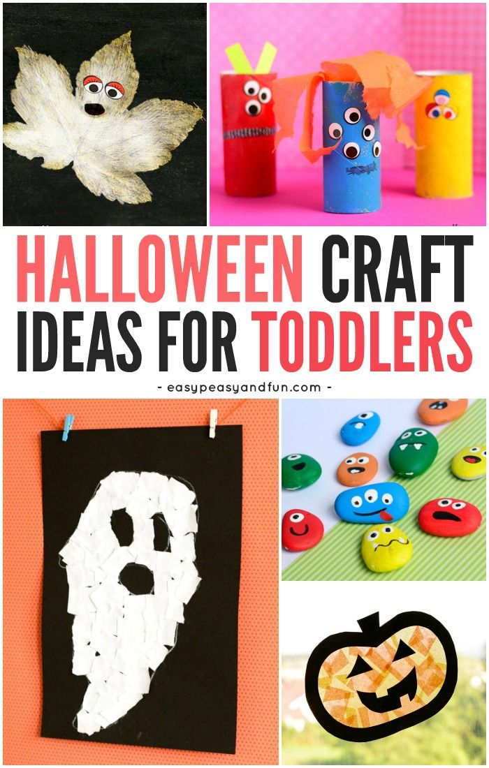 Halloween Crafts for Toddlers Craft and Easy halloween - halloween craft decorations