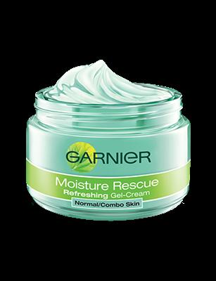 Moisture Rescue Refreshing Gel Cream Face Cream Garnier Moisturizer For Oily Skin Combination Skin Face Wash Face Moisturizer