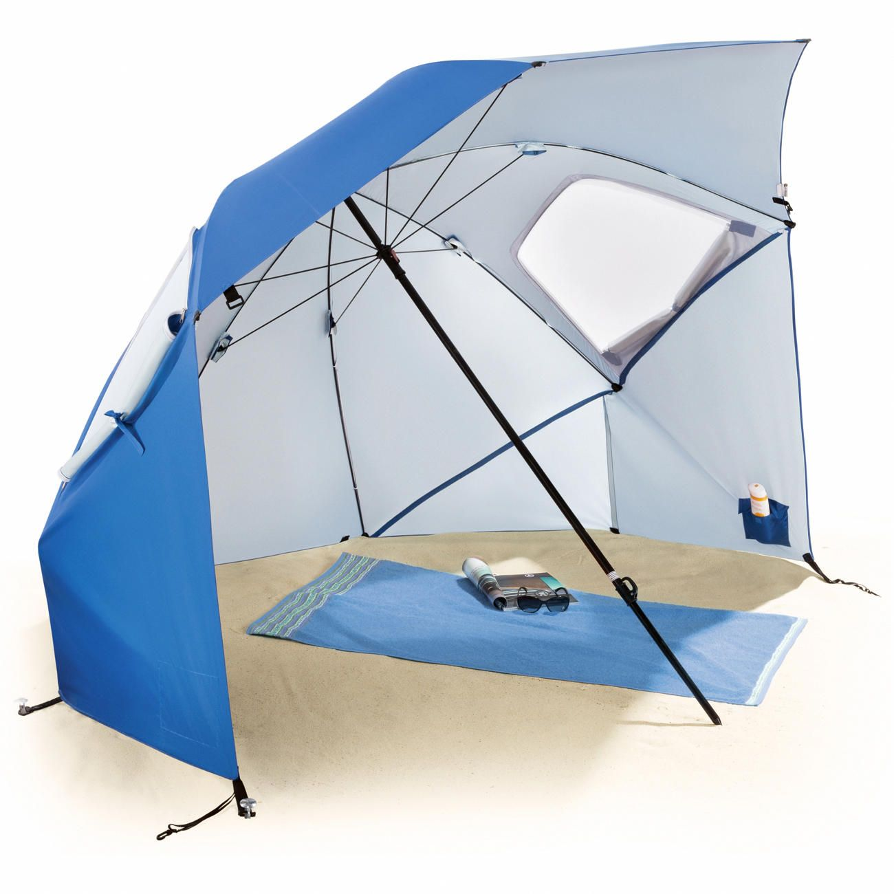 SuperBrella For the beach, camping, picnics, sports