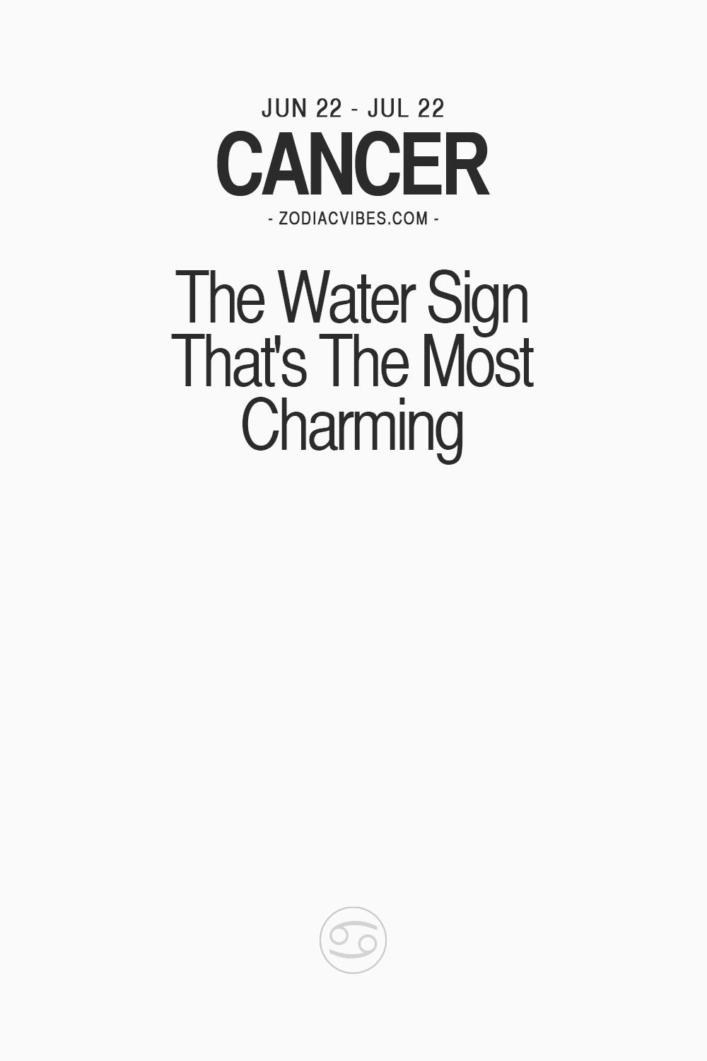 "Cancer Sign Quotes Thezodiacvibes ""Read More About Your Zodiac Sign ""  The Cancer"