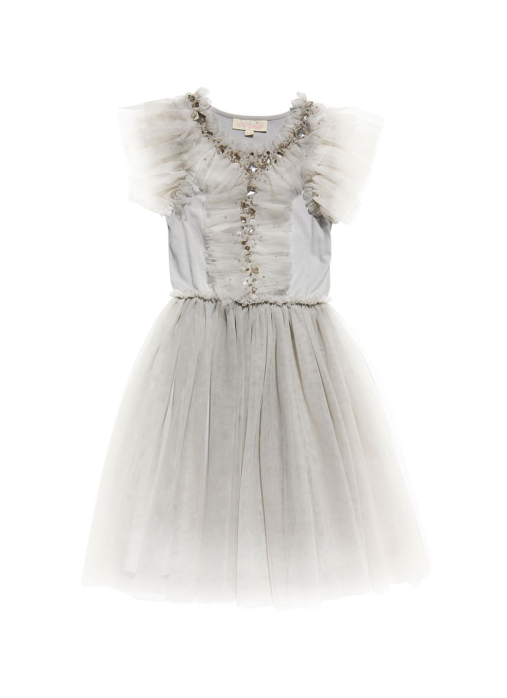 e6903f1daa7 Another Dimension Tutu Dress - Silver Ballerina Tutu