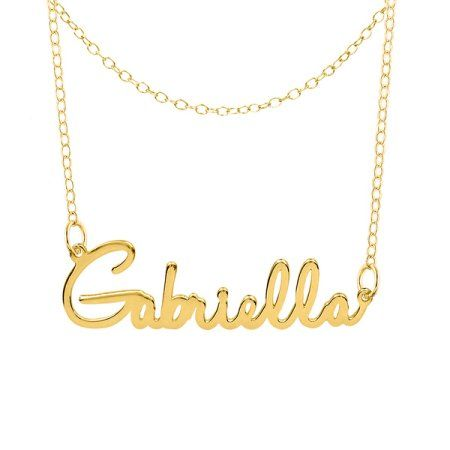 Jewelry Nameplate Necklace Necklace Online Gold Necklace
