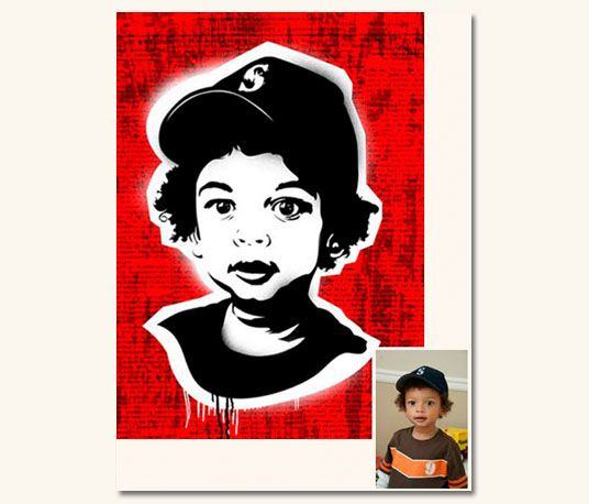 PRIVATE COLLECTOR IV. Es sencillo, vos traes la fotografía y nosotros la convertimos en #PopArt. #intervention #retrato