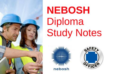 NEBOSH International Diploma Study Notes Download, nebosh