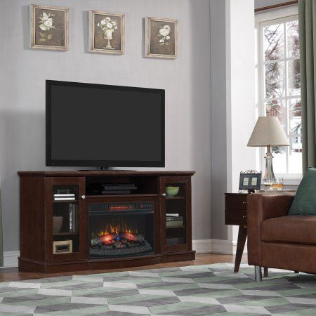 Chimneyfree Media Electric Fireplace For Tvs Up To 65 Inch