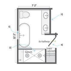Bathroom Floor Plans 8x10 Google Search Master Bathroom Layout
