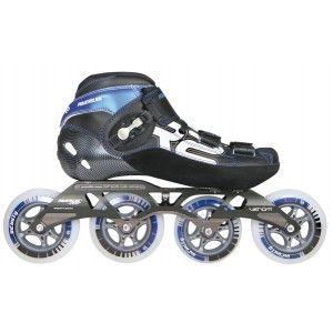 Powerslide R2 Inline Speed Skate Black Blue White Inline Speed