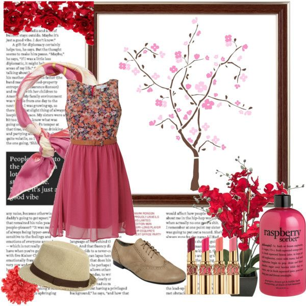 Girly vintage outfit