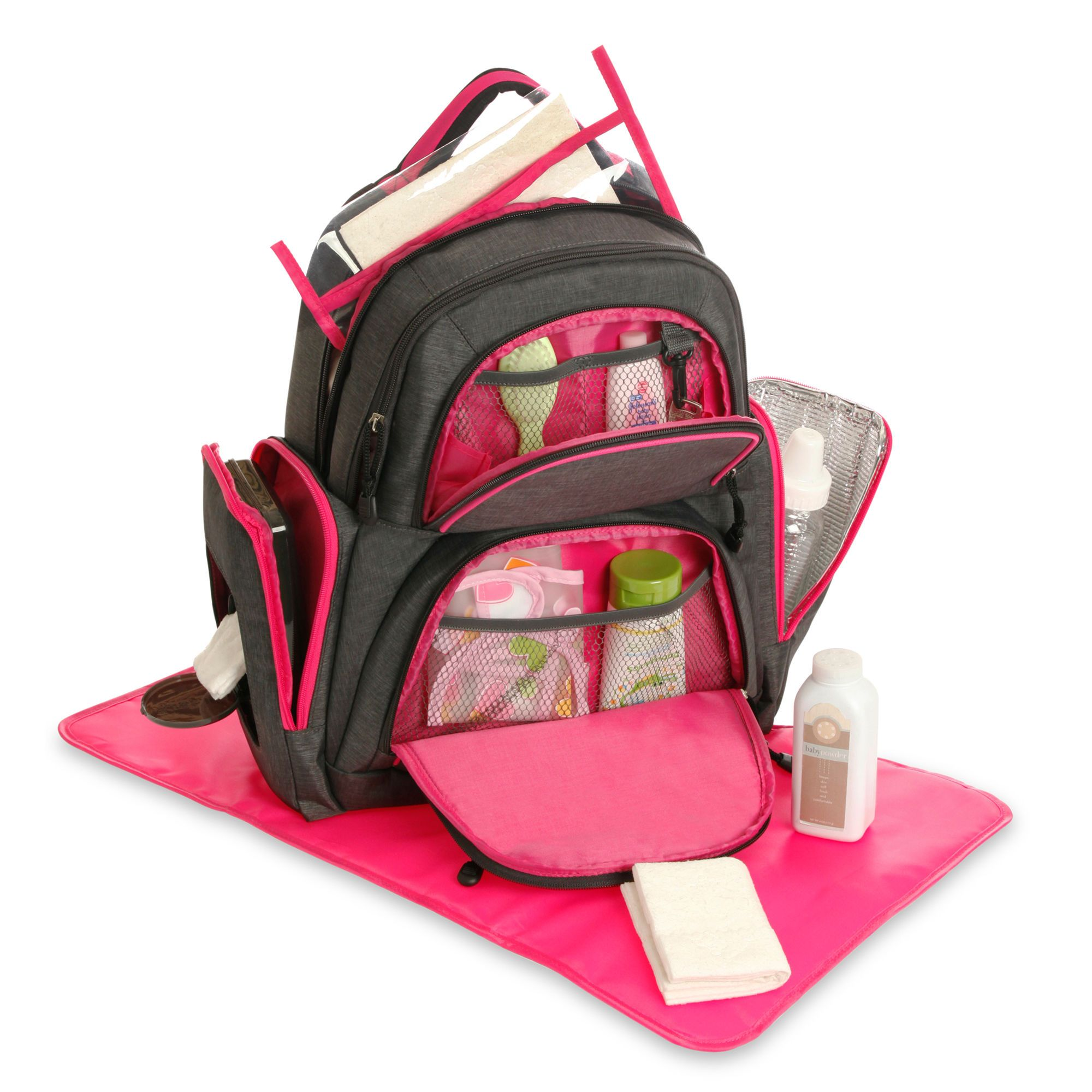 Athletic Backpack Diaper Bag | Backpack diaper bags, Colors and Bags