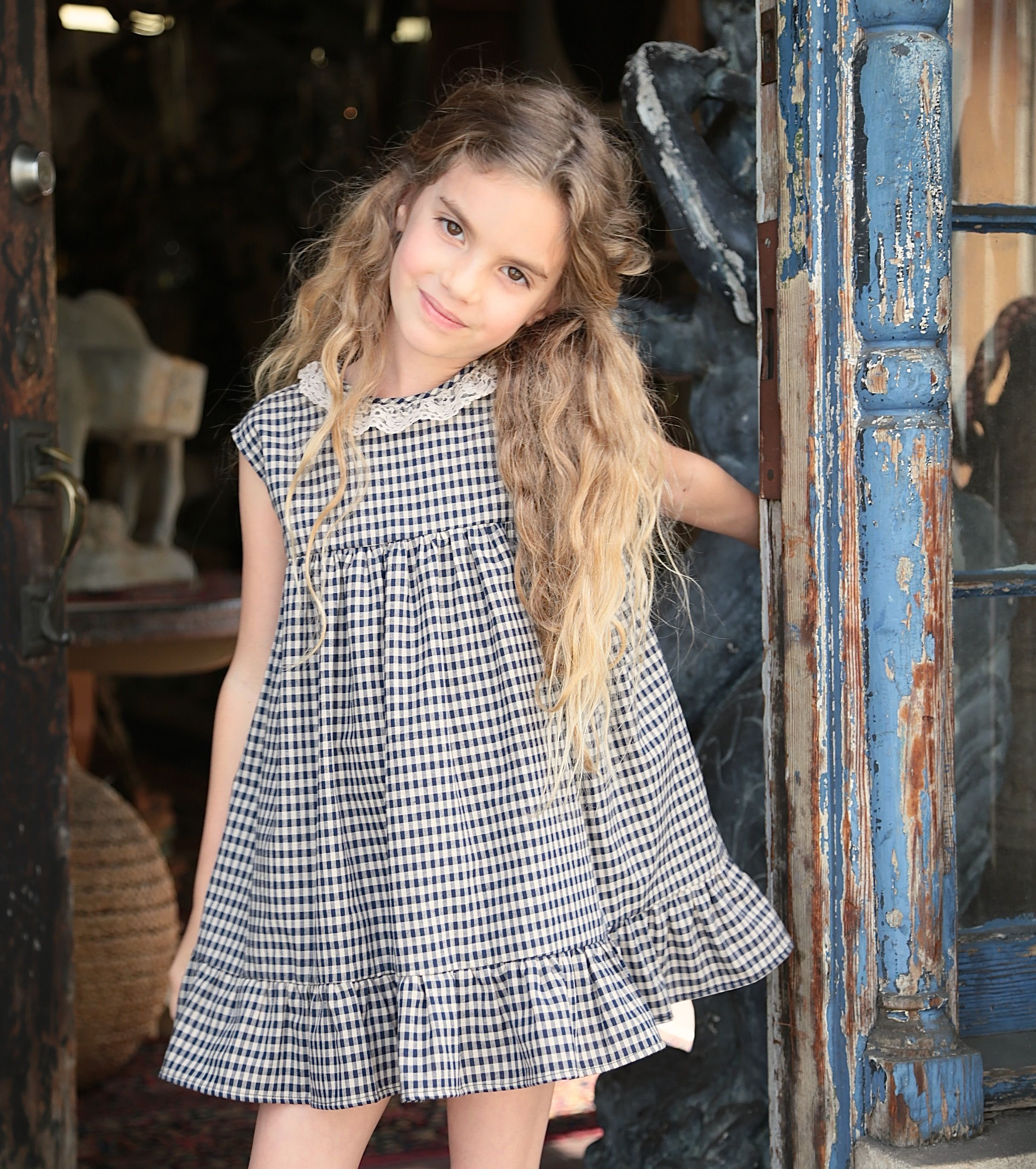 Our beautiful Evelyn dress:  sizes 2-8