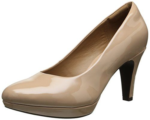 Womens Shoes Clarks Brier Dolly Nude Synthetic