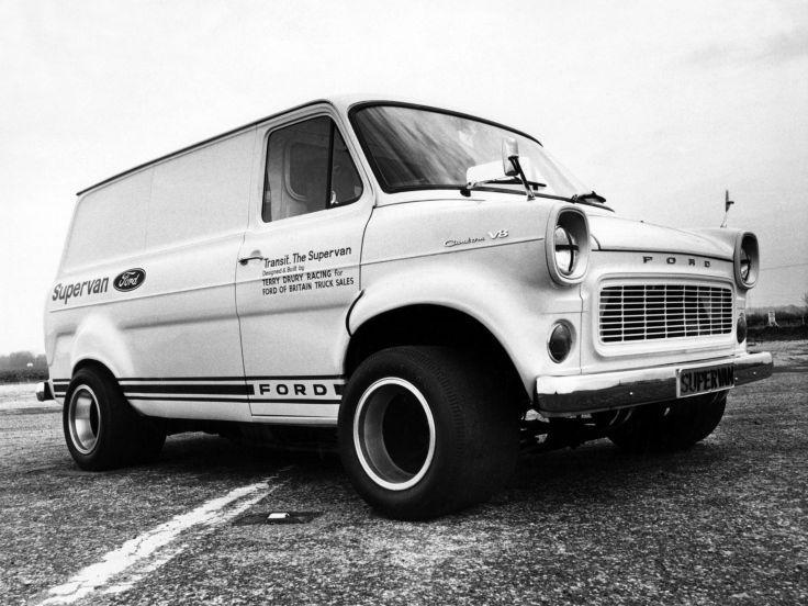 1971 Ford Transit Supervan 4x4 Hot Rod Rods Classic Van G