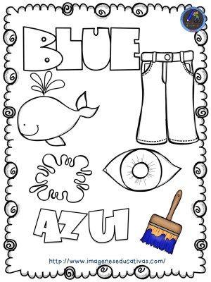 Mi libro de los colores para colorear | Imagenes educativas, Colores ...