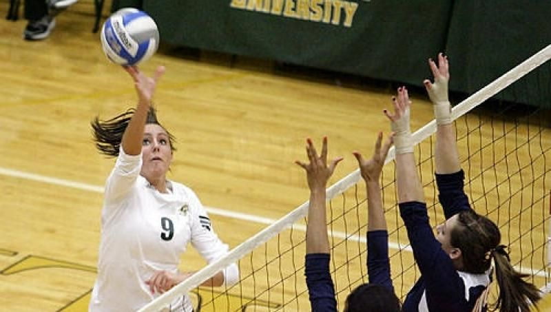 Volleyball Falls In Five Set Heartbreaker To Umes Volleyball Heartbreak Wyoming