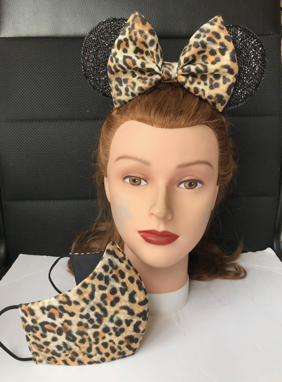 U PICK Costume Headband Mask Hat Ears Cat Black Brown Purple Minnie Wolf Orange