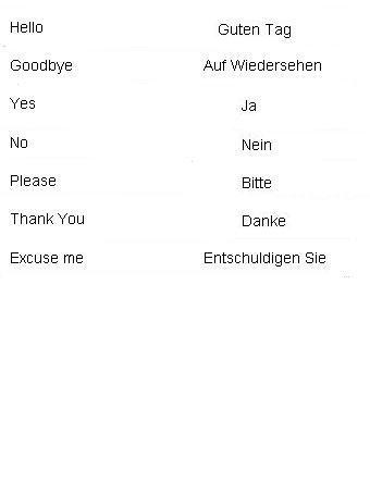 Basic german words learn german i like german rache means basic german words learn german i like german rache means m4hsunfo