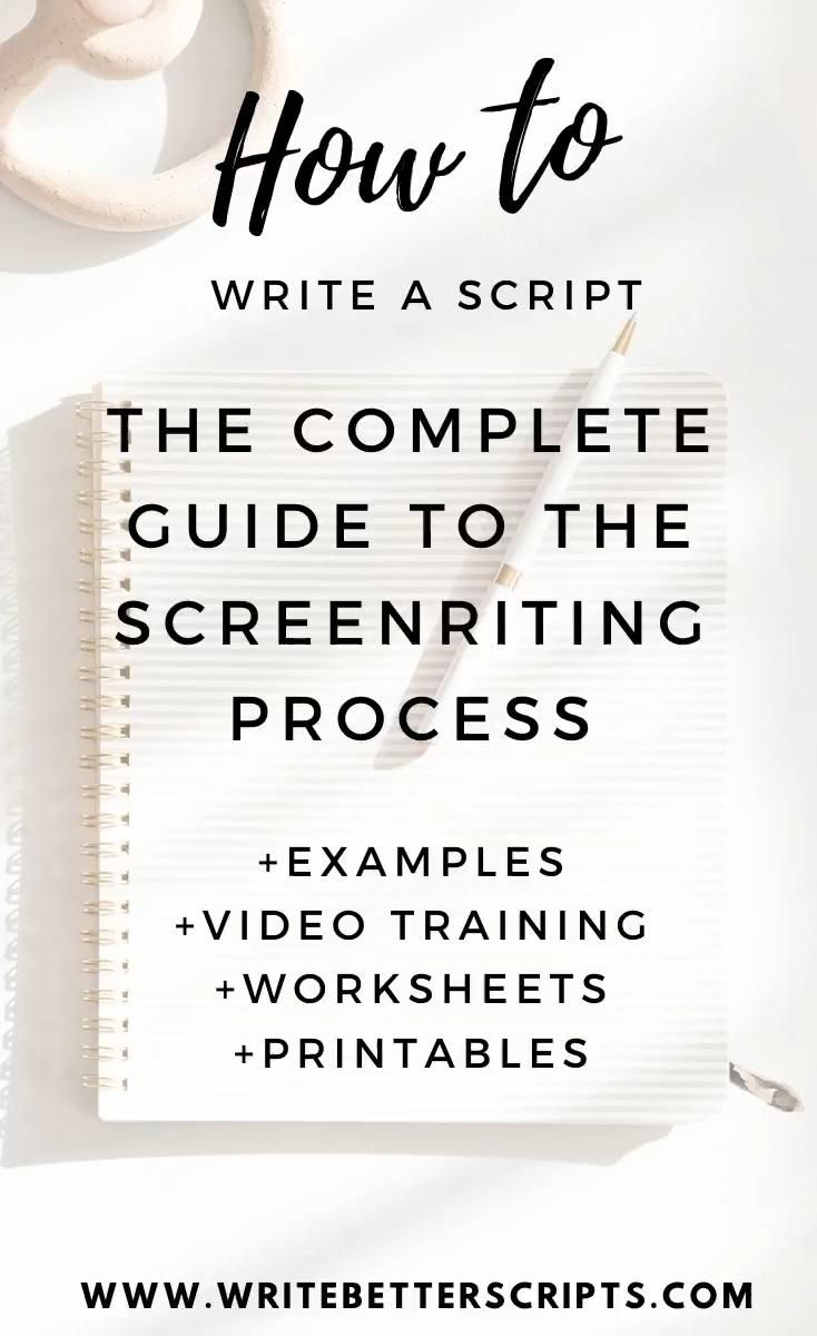 How To Write A Script Video Video Screenwriting Tips Book Writing Tips Screenwriting [ 1200 x 734 Pixel ]