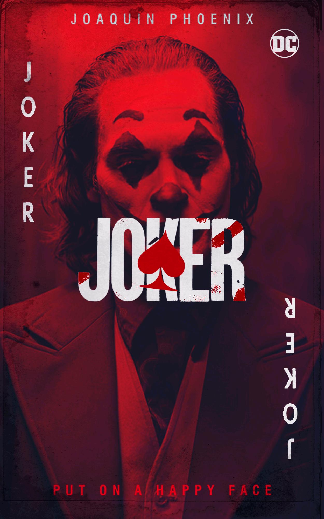 [Artwork] Joker - Put on a happy face 🃏