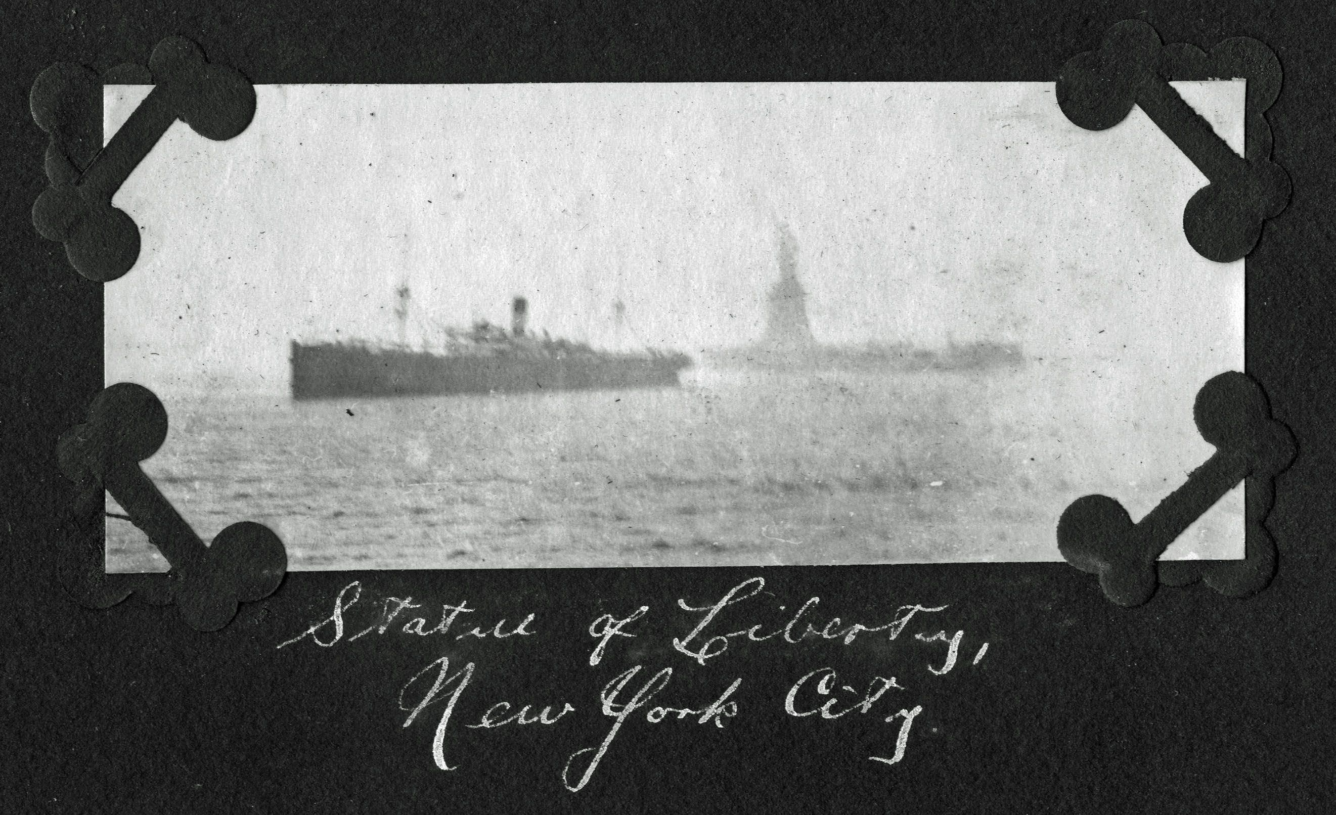 Satatue Of Liberty With Puartarican Flag Tattoo: The Statue Of Liberty, From The Steamship Leaving NYC To