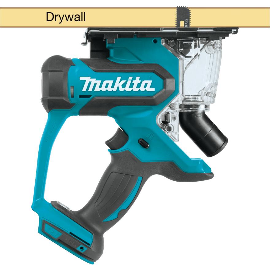 Makita Xds01z Cordless Cutout Saw Remodeling Tools Tools Drywall