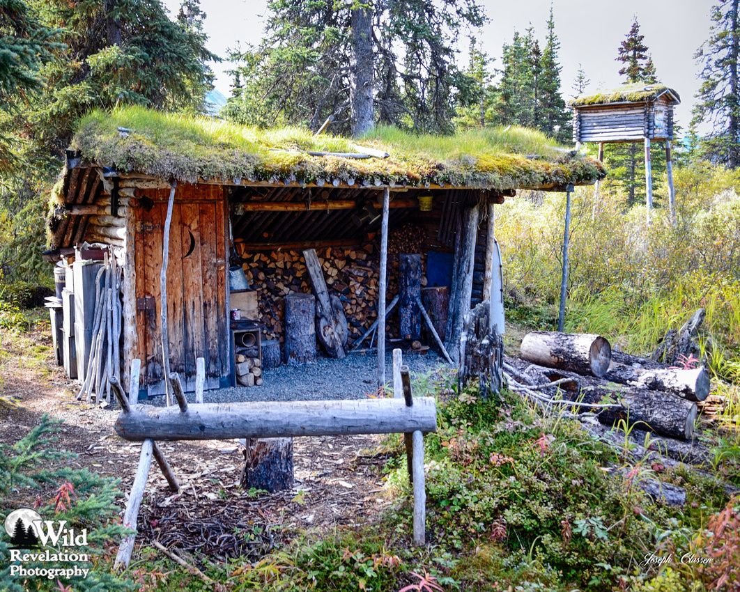 The Woodshed Work Area And Outhouse At The Famous Dick
