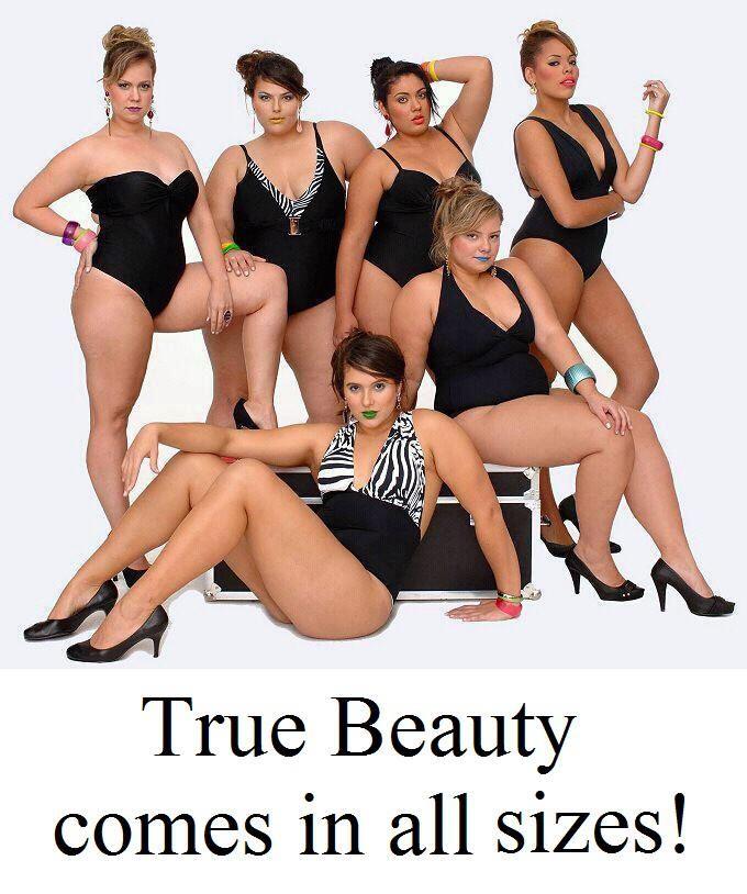 True Beauty comes in ALL sizes <3 // La beauté existe dans toutes les tailles !