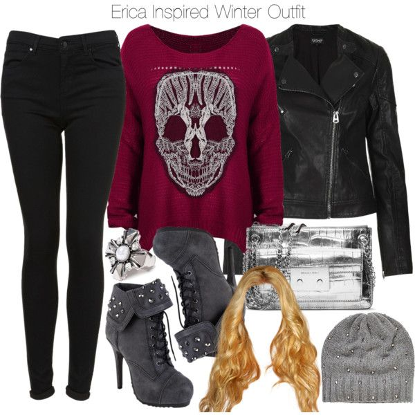 """""""Erica Inspired Winter Outfit"""" by veterization on Polyvore"""