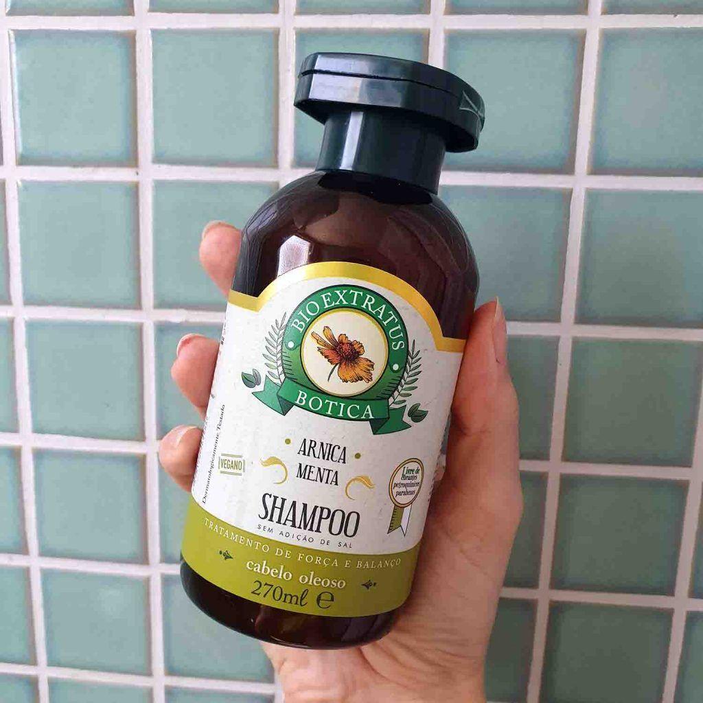 Bio Extratus Cabelos Oleosos Shampoo Botica Arnica E Menta Em