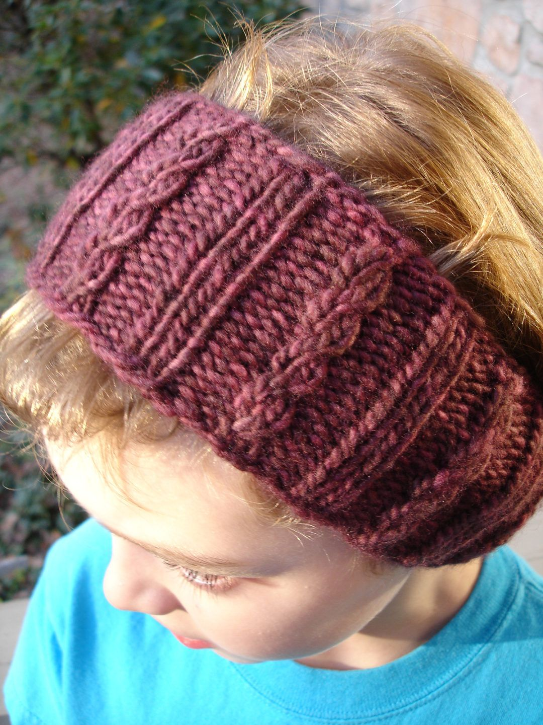 Free Knitting Pattern for Mock Cable Ear Warmer | шапочка ...