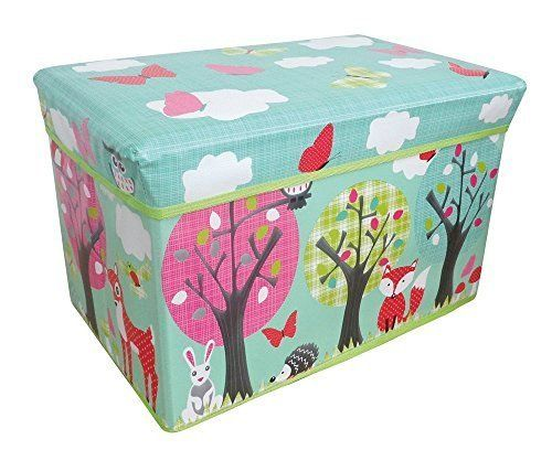 Beau [Toy Storage Ideas] Jumbo Large Toy Boxes Laundry Kids Childrens Storage  Chest With Padded Lid (Woodland Animals) By Country Club U003eu003eu003e Find Out More  About ...