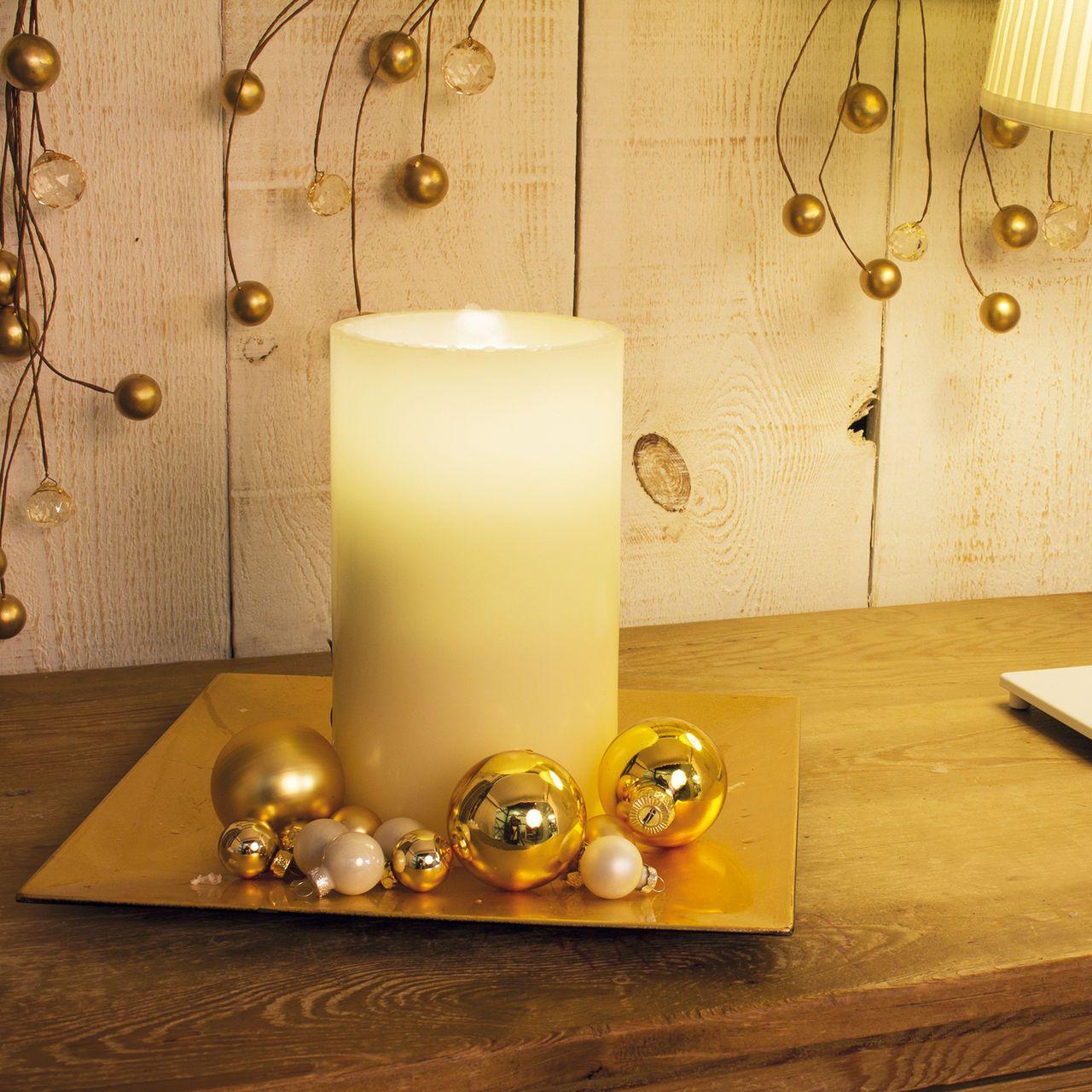 Zimmerbrunnen Kerze In Einem Led Kerzen Kerzen Stumpenkerzen