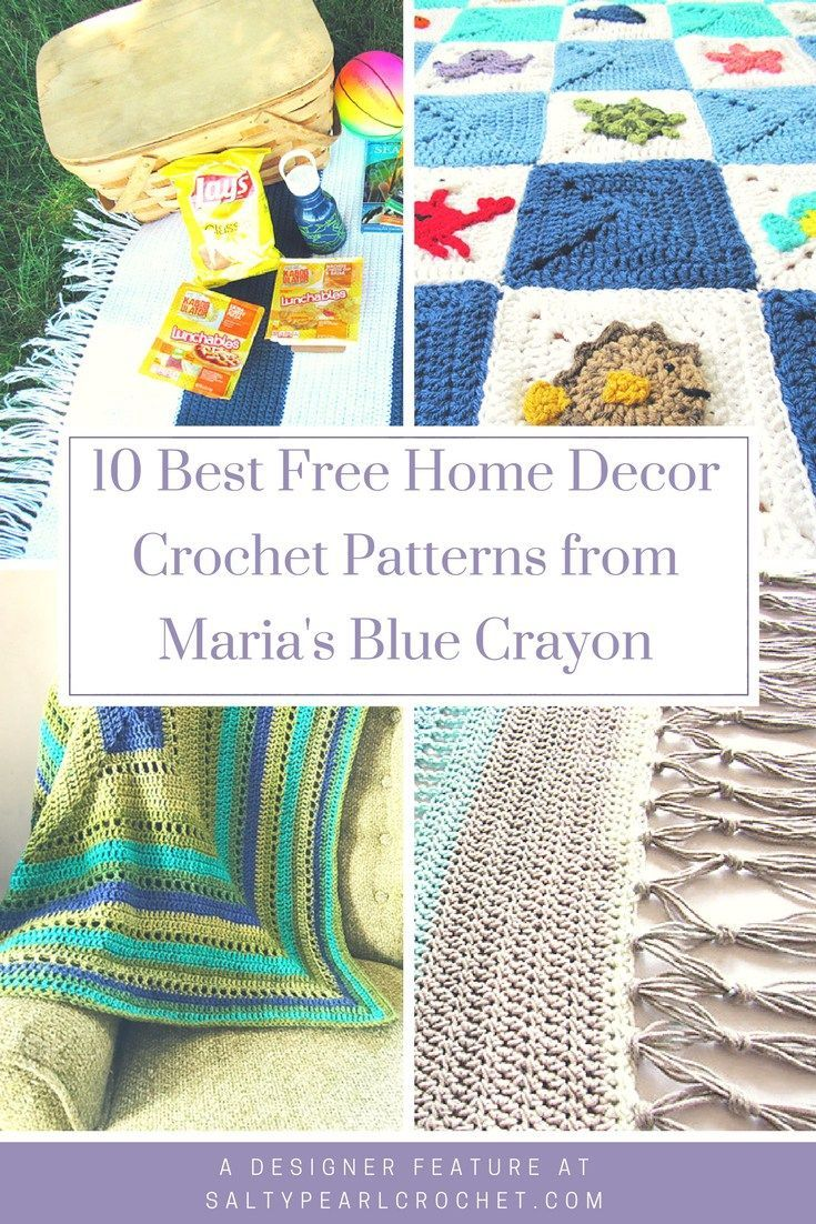 You Will Love This Collection Of The Best Free Home Decor Crochet