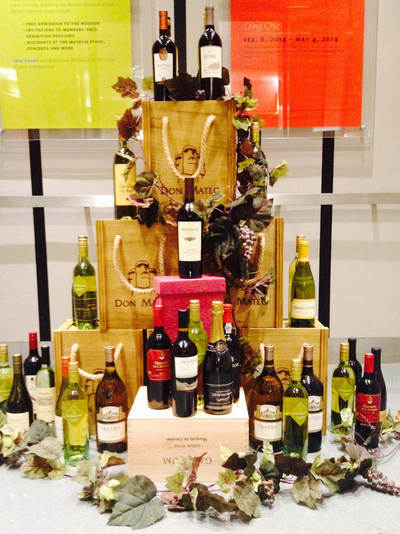 Donated wines will be used for the wine toss at the St. Luke's auction.