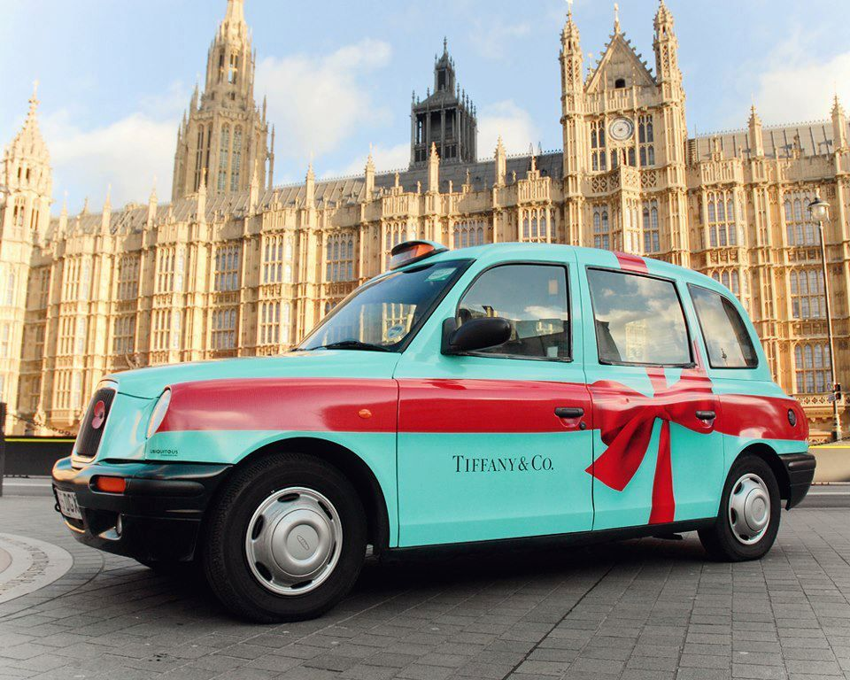 Tiffany and Co. London Cab The Vintage Room