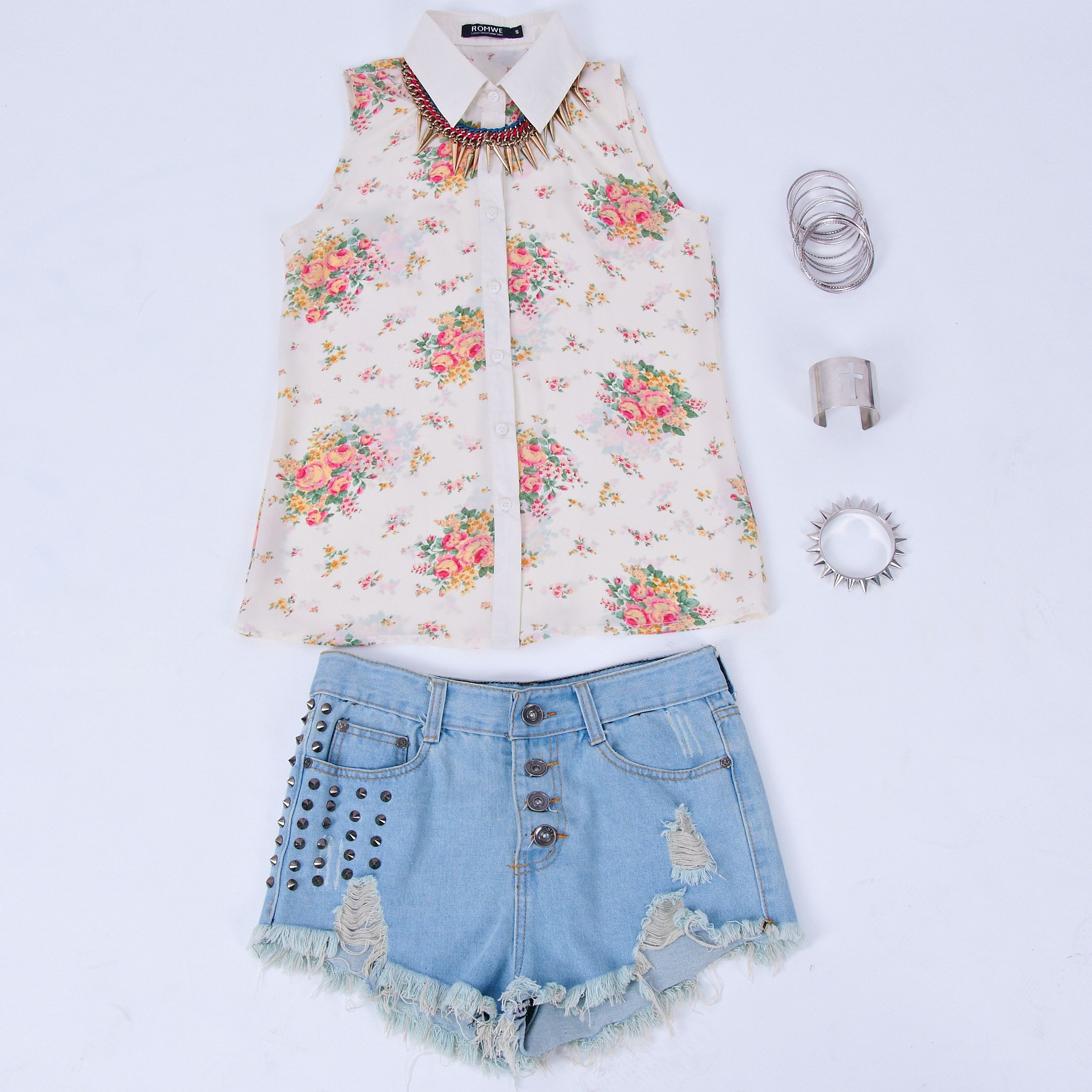 Romwe Summer Clothes