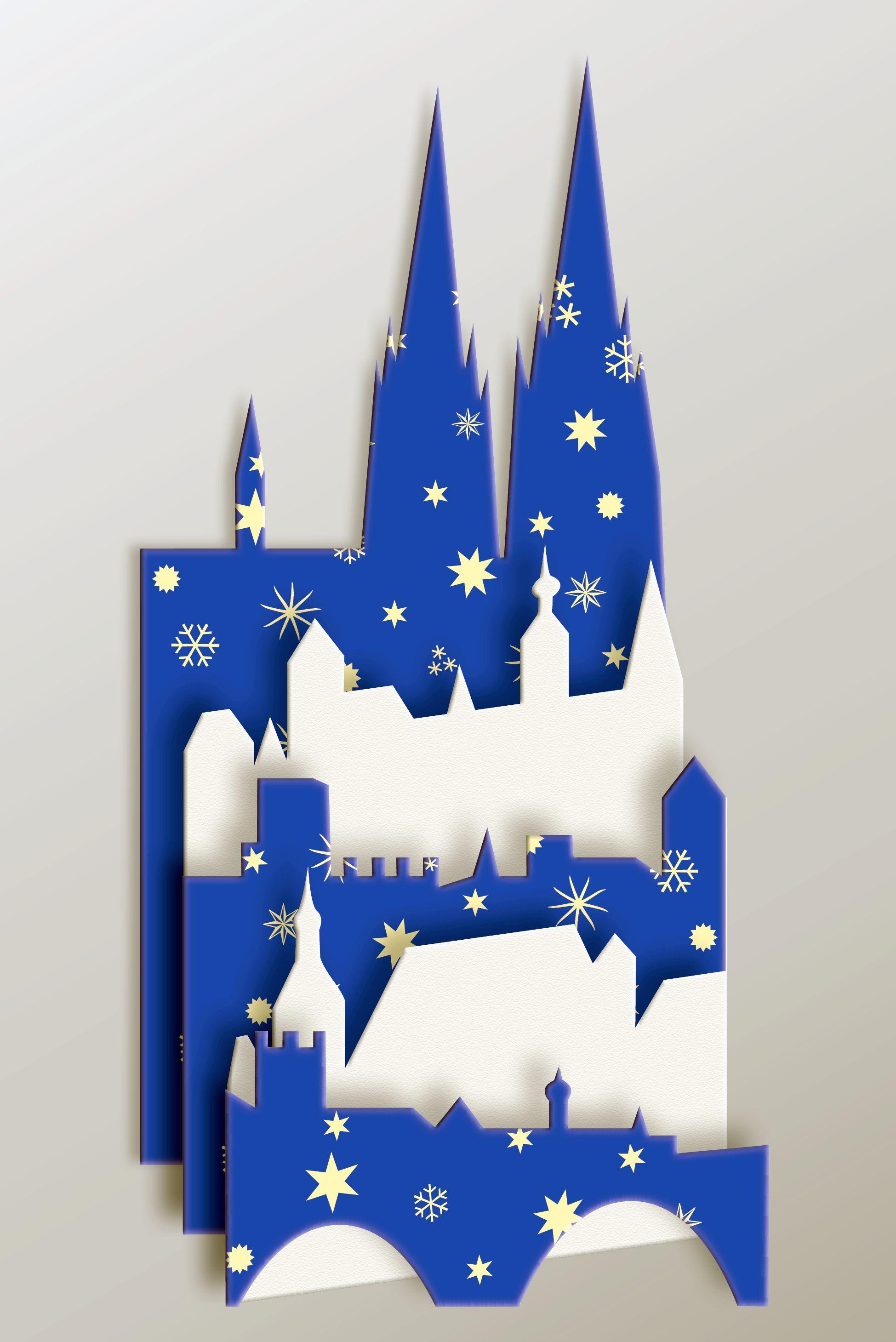 Individuelle Weihnachtskarten.Individuelle Weihnachtskarte Von Regensburg Oder Auch Von Ihrer