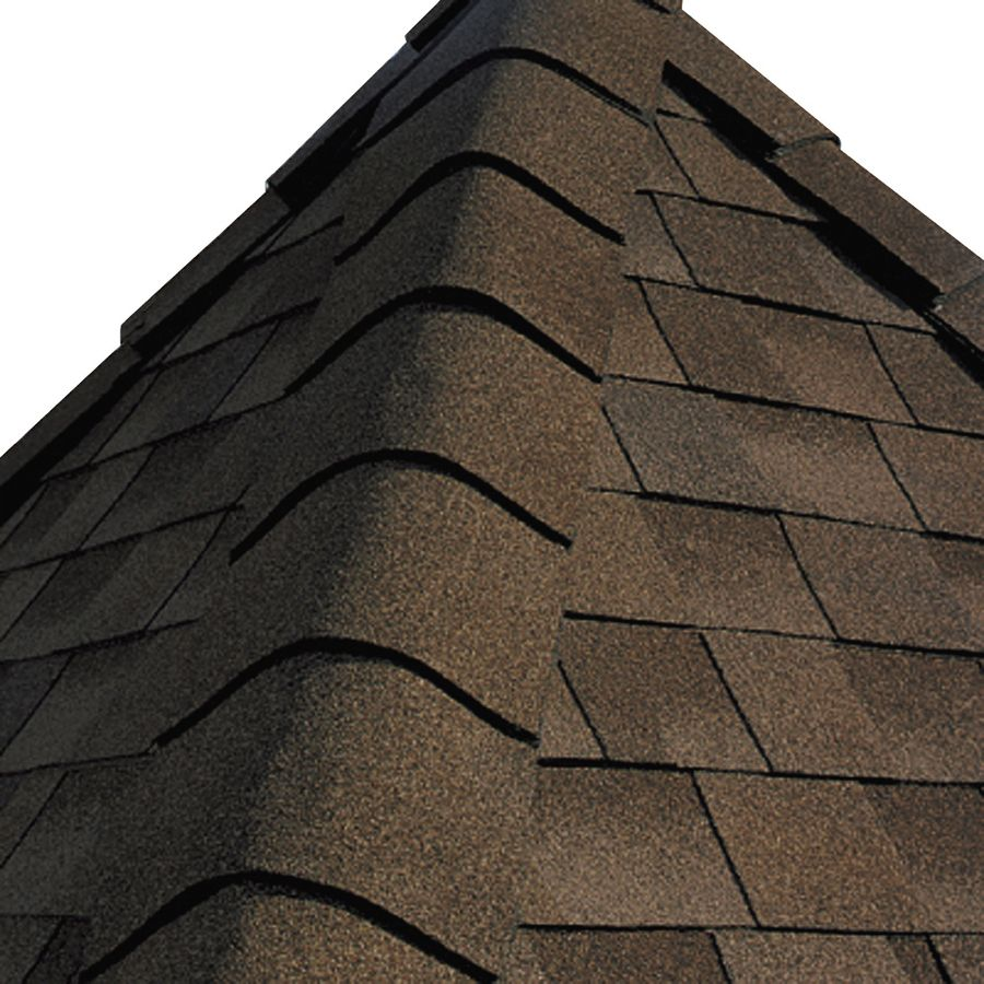Gaf Timbertex 20 Lin Ft Timbertex Adobe Sunset Laminated Hip And Ridge Roof Shingles Lowes Com In 2020 Ridge Roof Roof Shingles Shingling