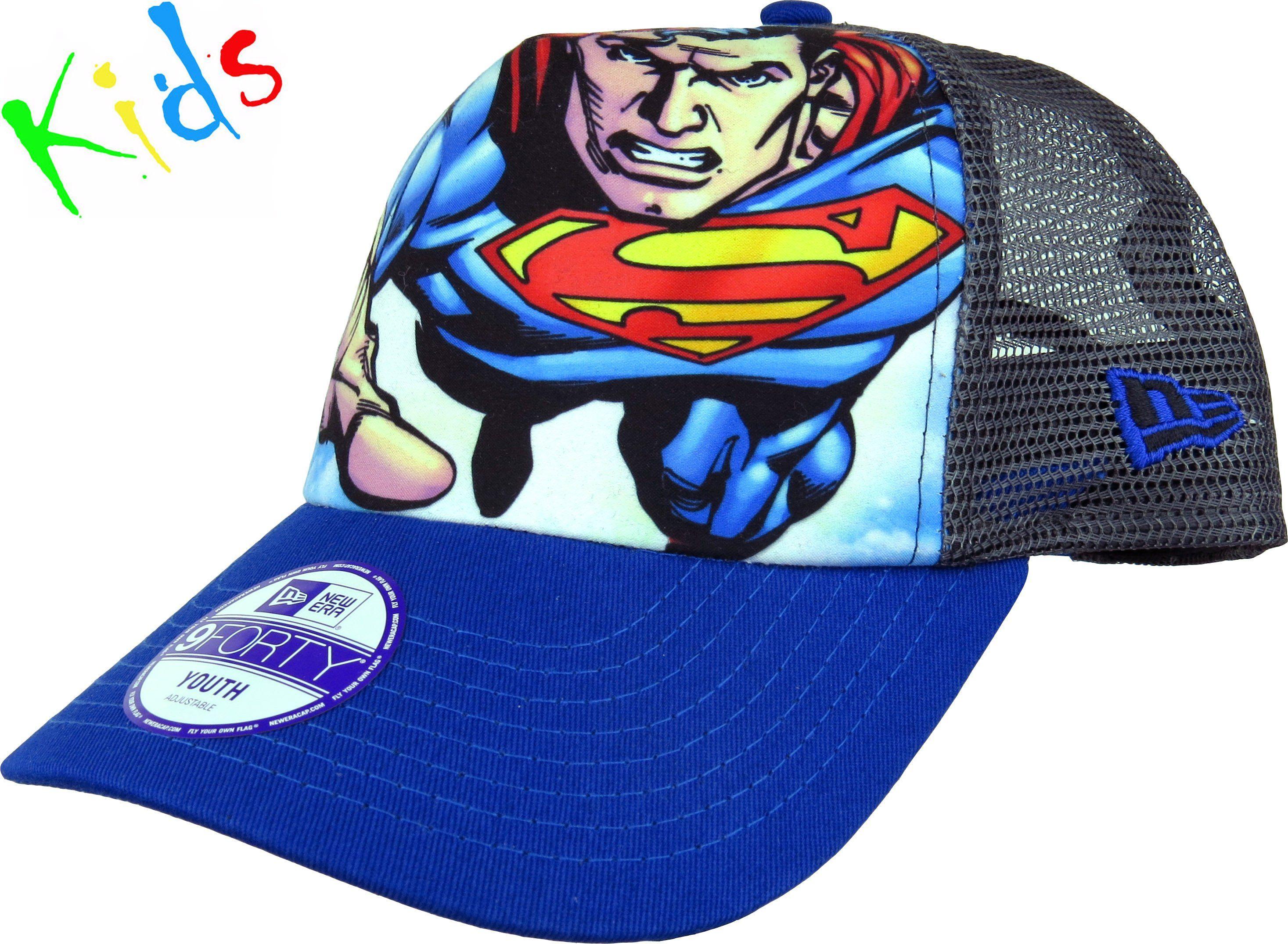 New Era Boys Superhero Adjustable Trucker Cap Age 3-10 years