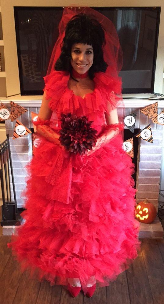 DIY Beetlejuice Costumes- Lydia Deetz Costume | Beetlejuice ...