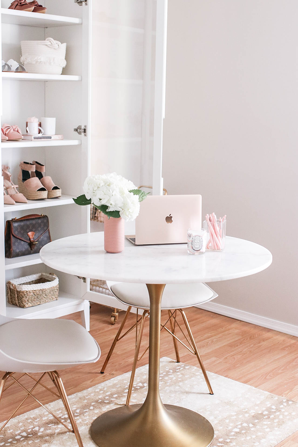 Blogger Office Workspace Tour Home Office Decor Home Office