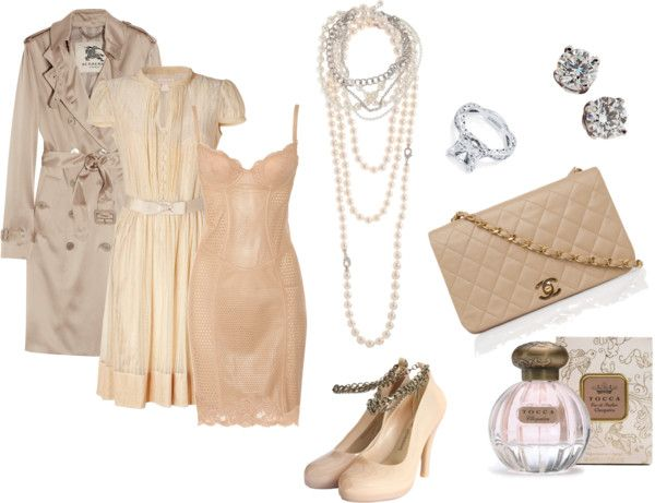 """monochromatic elegance"" by deliriouslypink on Polyvore"