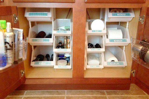 Under-Sink Storage Bathroom Organizer