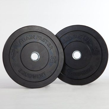 $55 Again Faster Rubber Bumper Plates - pair of Tens!