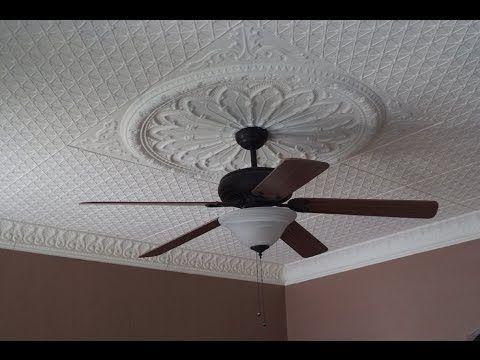 Follow This Tin Ceiling Installation