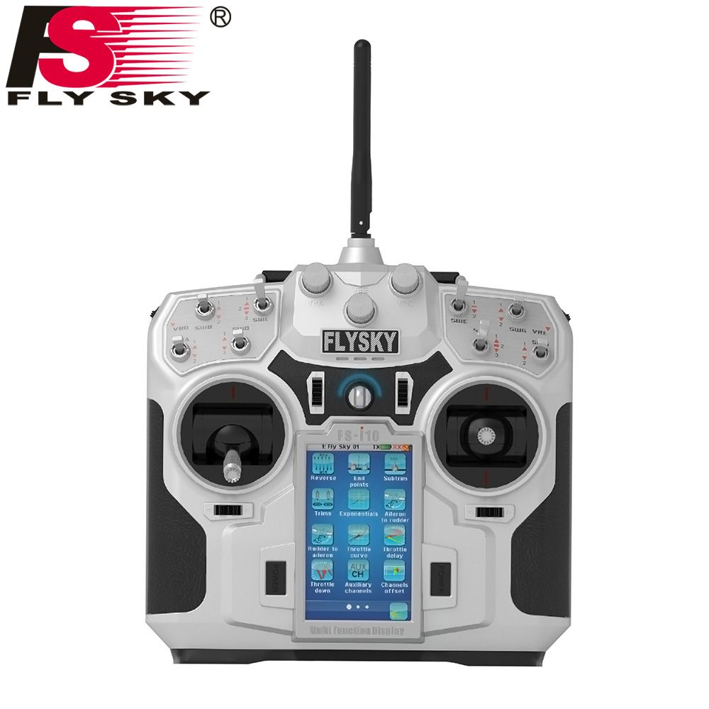 Flysky FS-IA10B 10CH Receiver for FS-I10 I6S RC Radio Transmitter RC Helicopter